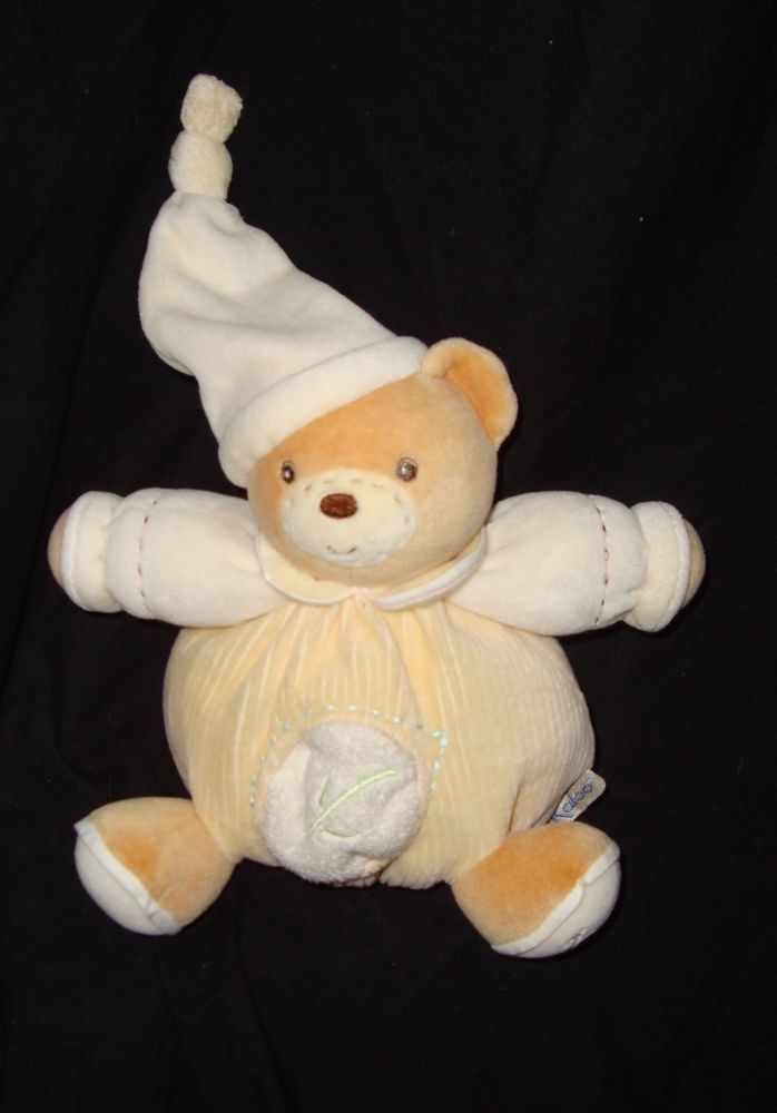"Kaloo Teddy Bear Plush Baby Toy 8"" Stuffed Animal Plushie #Kaloo"