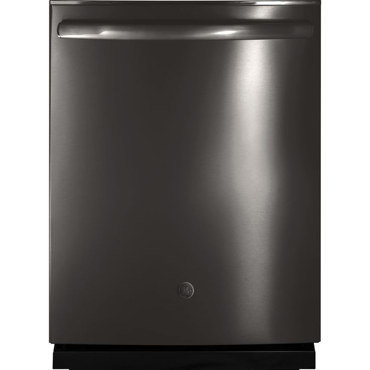 GE Profile Black Stainless Dishwasher with Hidden Controls (Black - Stainless Steel - Top Control - 24 In.)