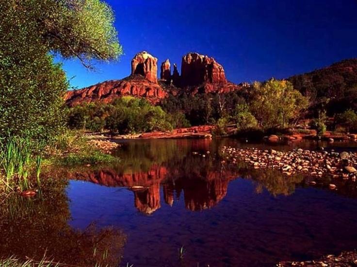 Cathedral Rock -- Red Rock Crossing. Sedona, Arizona