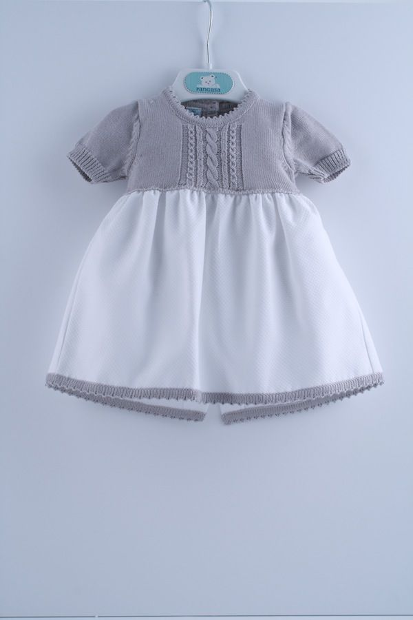 Vestido Pangasa Baby Coleccion Primavera Verano 2012 2013. Mod. 32412 | Vestido Sweet Piqué - 32412 | Pangasa Baby