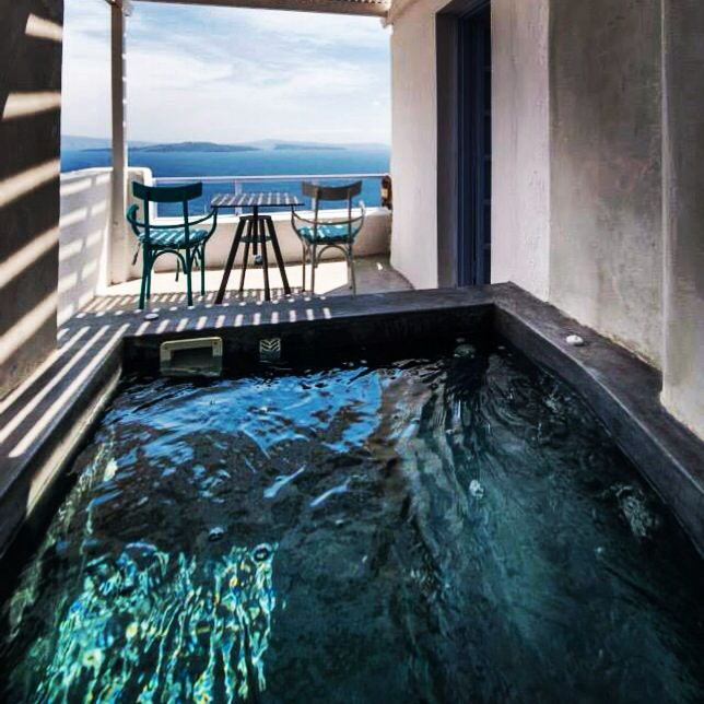 Junior Suite with outdoor Hot Tub | Armeni Village rooms & Suites