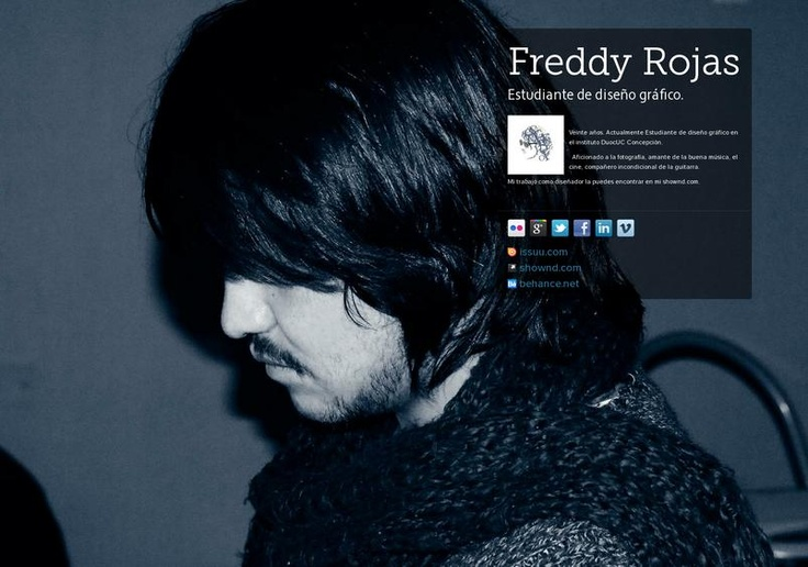 Freddy Rojas' page on about.me – http://about.me/fre.rojasm