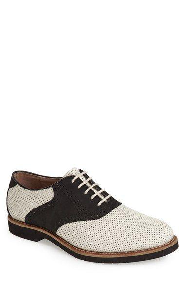 Mens G.H. Bass  Co. Burlington Saddle Shoe Size 7.5 M - Brown $109.00 AT vintagedancer.com