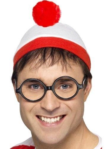 Adult Where's Wally Fancy Dress Where's Wally? Instant Kit One Size by Fancy Dress To Impress, http://www.amazon.co.uk/gp/product/B008GK1RU8/ref=cm_sw_r_pi_alp_VALQqb15HSFAV
