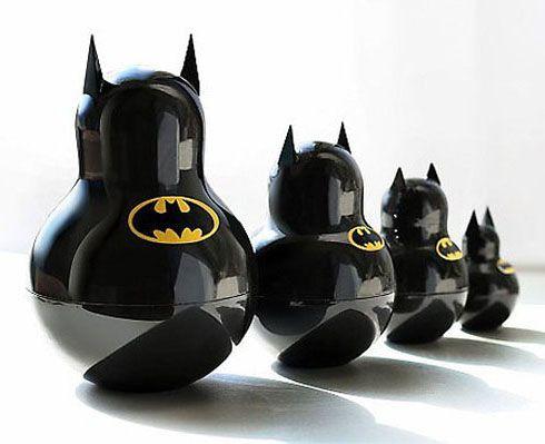 Batman Nesting Dolls: Batman Nests, Awesome, Bats, Nests Dolls, Things, Matryoshka Dolls, Batman Russian, Products, Superhero