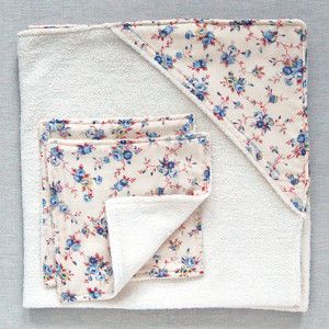 Baby Towel and Washcloth Set | AllFreeSewing.com