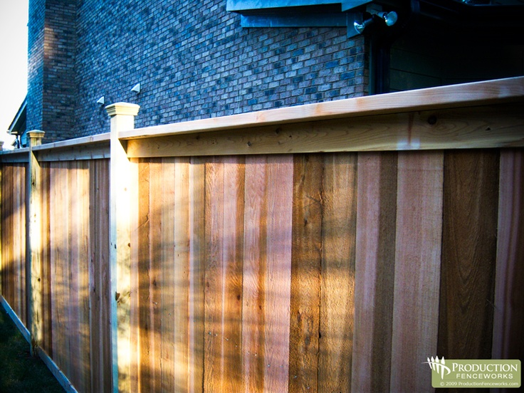 Cedar Fence Designs 162 best cedar fence images on pinterest garden fences garden cedar fence workwithnaturefo