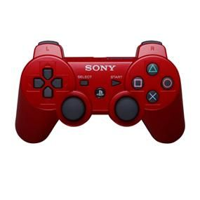PlayStation 3 Dualshock 3 Wireless Controller (Red) - http://www.2013trends.net/store/playstation-3-dualshock-3-wireless-controller-red/