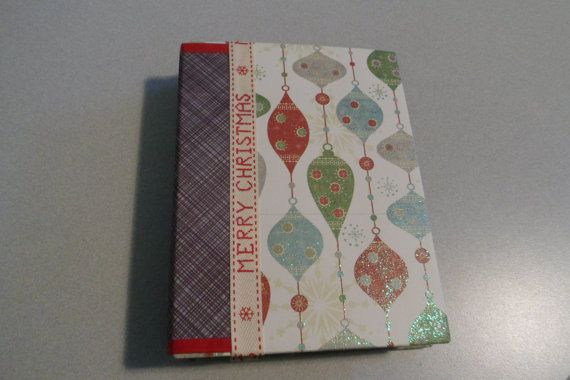 Check out this item in my Etsy shop https://www.etsy.com/listing/246141558/holiday-merry-christmas-mini-album-new