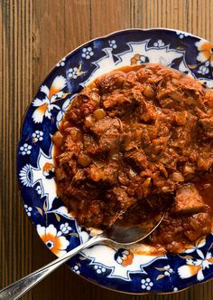 Hungarian venison porkolt, which is like goulash, only thicker and meatier. Recipe on Hunter Angler Gardener Cook: http://honest-food.net/