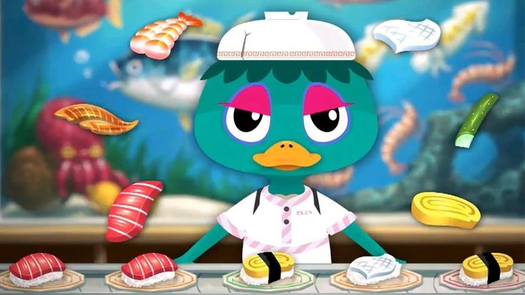 Fun Play Cooking Sushi Kids Game - Learn Food TO-FU Oh!SUSHI Kitchen Tod...