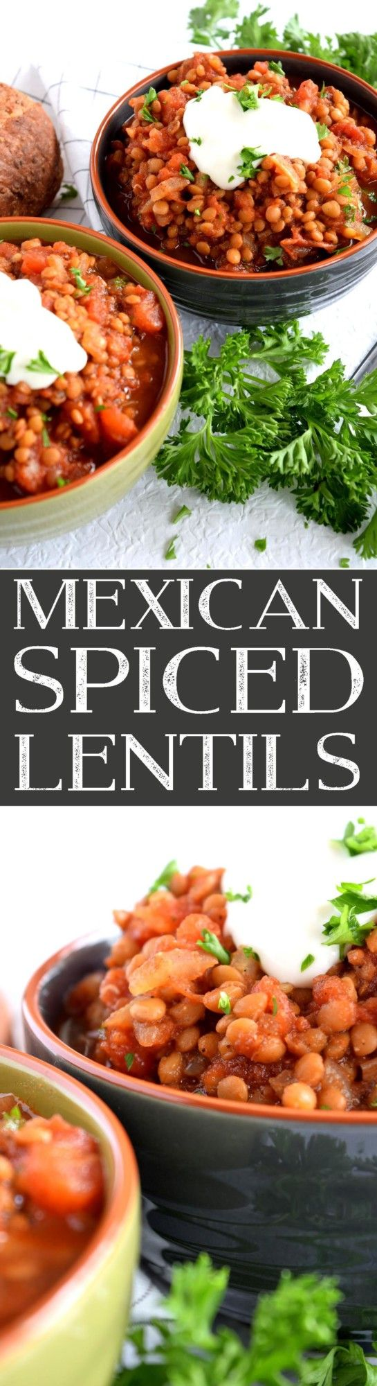 Mexican Spiced Lentils - Lord Byron's Kitchen