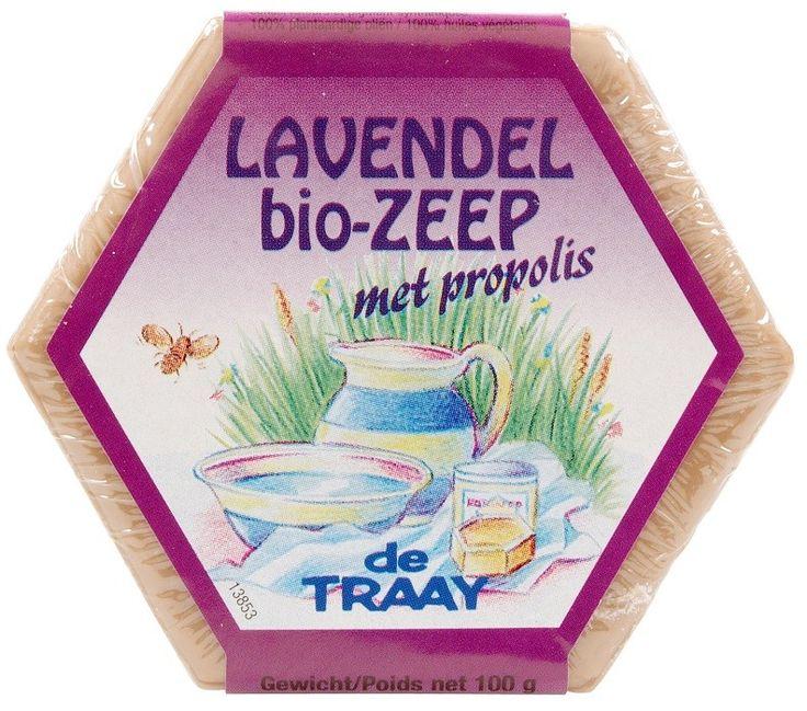 Biologische Zeep Lavendel & Propolis 100 gram