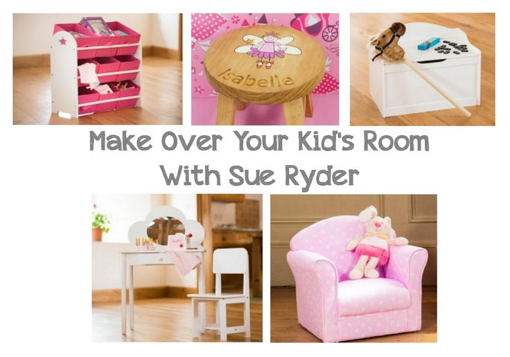 Make Over Your Kid's Bedroom with Sue Ryder - You Baby Me Mummy