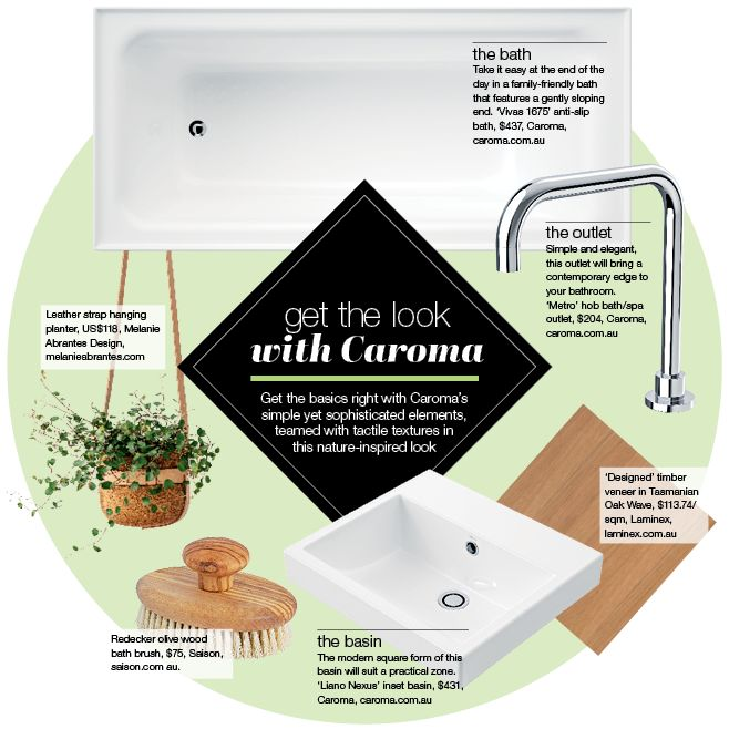 Bathrooms by Caroma. Find quality bathroom products, fittings and accessories.