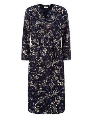 Waltzing Print Tunic Dress | Navy | Monsoon