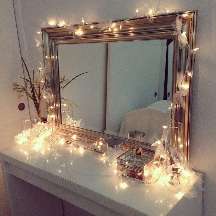 Dekoration wohnung selber machen weihnachten  Die besten 20+ Lichterketten Ideen auf Pinterest | Schlafzimmer ...
