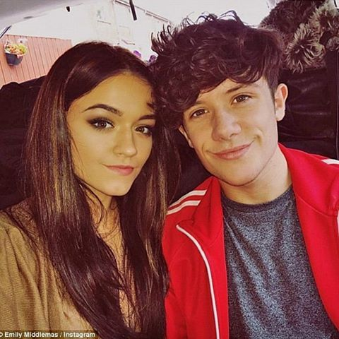 Emily Middlemas and Ryan Lawrie from X Factor uk 2016