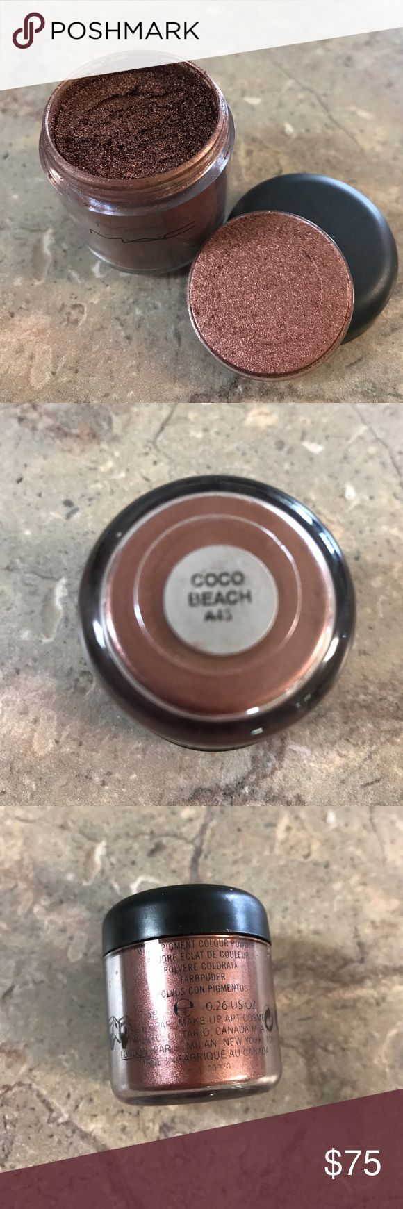 MAC PRO PIGMENT COCO BEACH VERY RARE! New no box, extremely rare and discontinued Coco Beach MAC Cosmetics Makeup Eyeshadow