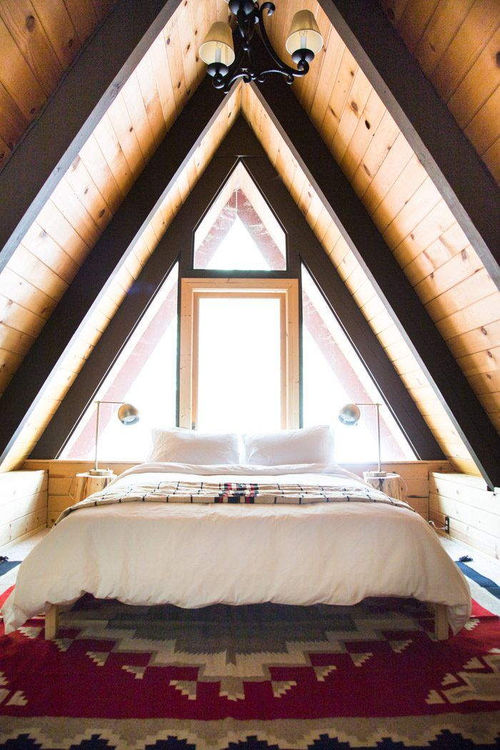 Cabin update: Upstairs bedroom - Hither & Thither #sp