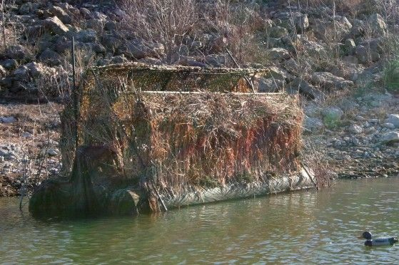 Duck Hunting Boats For Sale >> The Pond King Duck Buster is a floating duck blind. This ...