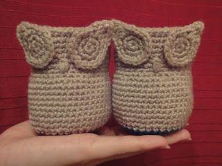 Paper, Wool and Yarn: Pattern: Owl Twins