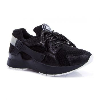 Черные кроссовки на платформе (Q6-348T-3-3), купить за 1299 грн в интернет-магазине Topshoes.ua