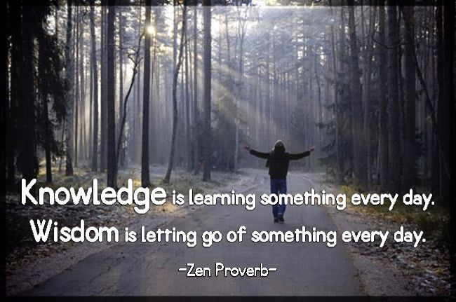 Knowledge is learning something every day