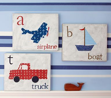 Becoming Martha: wall artArt Knock, Wall Art, Gift Ideas, Baby Room, Boys Room, Shower Gift, Baby Gift, Pottery Barns, Transportation Art