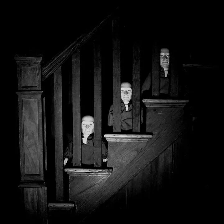 Stair People Stairs Stares Creepy Dark Images Pinterest Posts Stair