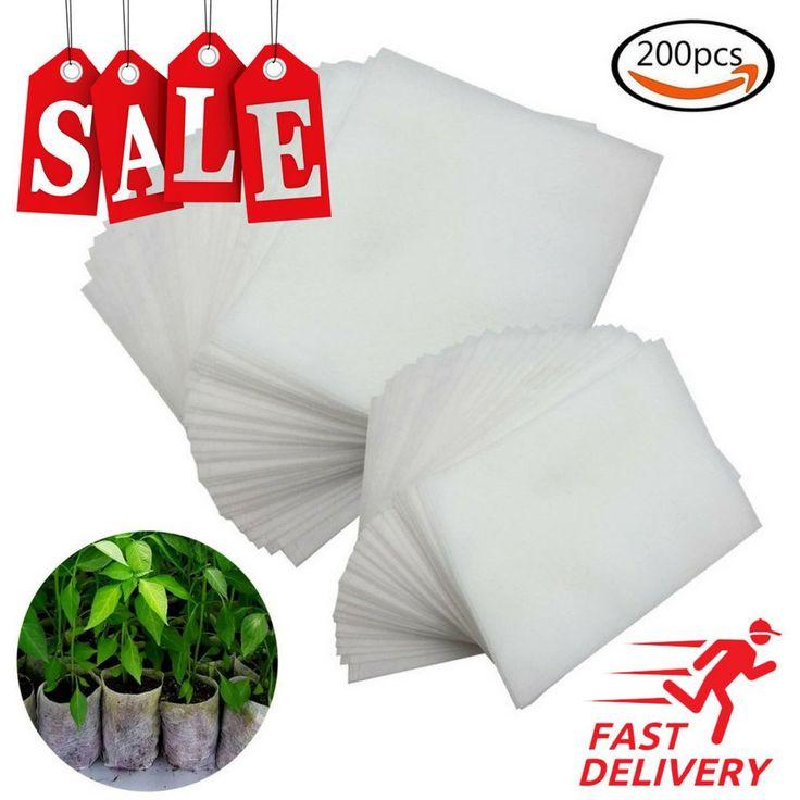 JPSOR 200Pcs Biodegradable Non-woven Nursery Bags Plant Grow Bags Fabric Seedlin  http://ift.tt/2C48XEw #Plant #Care #Soil #Accessories #Baskets #Pots #Window #Boxes #JPSOR #200Pcs #Biodegradable #Non-woven #Nursery #Bags #Plant #Grow #Bags #Fabric #Seedlin  #gardenstore83