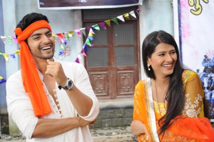 Yash and Aarti celebrate Holi
