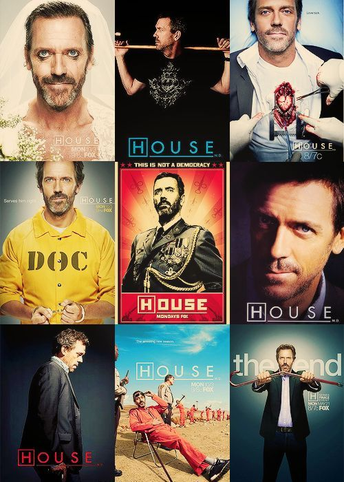 charming life pattern: House MD - hugh laurie - gregory house