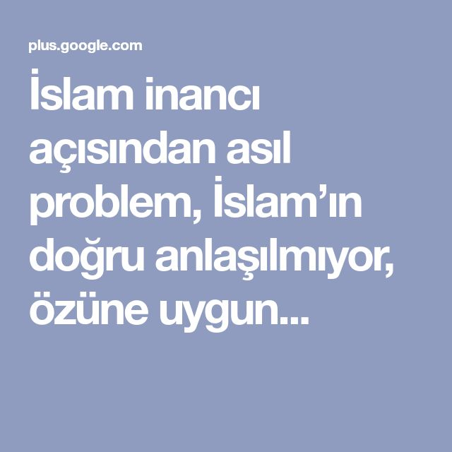 islams problems come from within essay The concept of the afterlife religion essay in revelation 21 it states that an army of angels will come down from therefore it is taught within islam that.