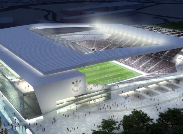 Arena de Sao Paulo - 61 600 places