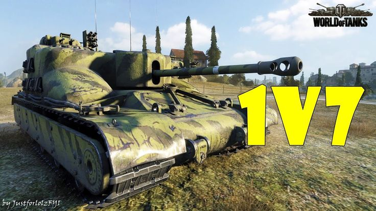 World of Tanks - EPIC! [AT 15A | 1v7, 8 KILLS by LibertyPrime1]