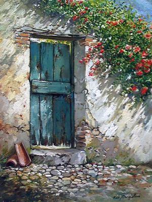 La Porta dell'orto by Francesco Mangialardi