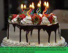 Resep Cara Buat Kue Ulang Tahun Anak
