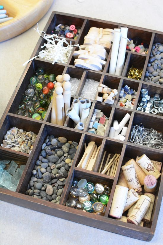 I started a new job last week. I am the new atelierista (art teacher) at a Reggio based preschool close to where I live and I just love love love it! Reggio is a play based approach that I learned about several years ago and immediately fell in love with. There are several key elements to(...)