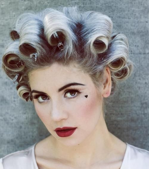 57 Best Pin Curls Images On Pinterest Hair Dos Black