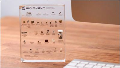 数十億年前の恐竜の化石を持ち運べる本物のミニ標本「Mini Museum」