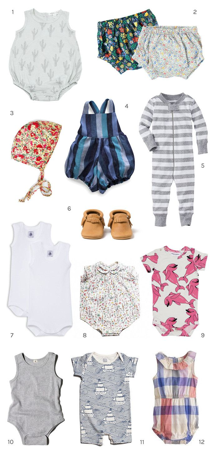 Cutest Baby Clothes for Gifts