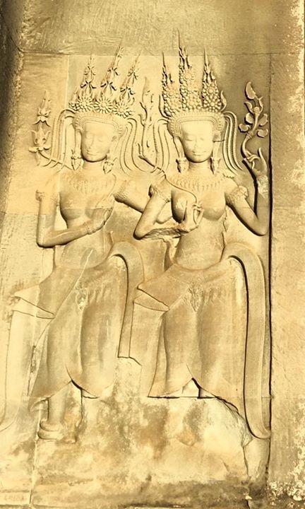 #Apsara at #Angkorwat in #Cambodia