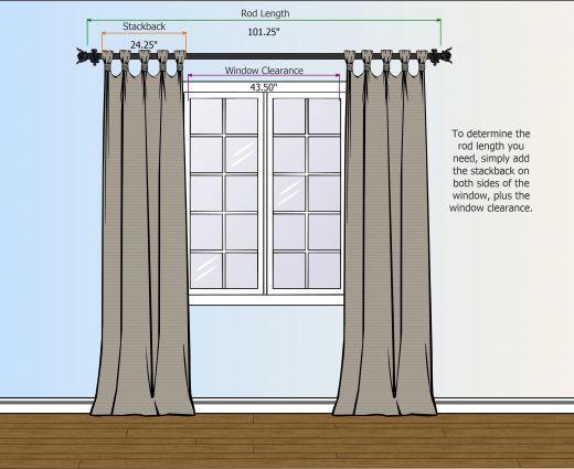 Various Ways To Hang Curtains | Luxurious Hang Curtain Rods