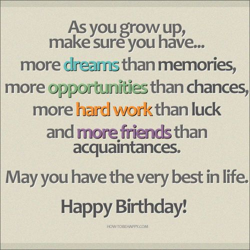 Happy Birthday May You Have The Best In Life Pictures, Photos, and Images for Facebook, Tumblr, Pinterest, and Twitter