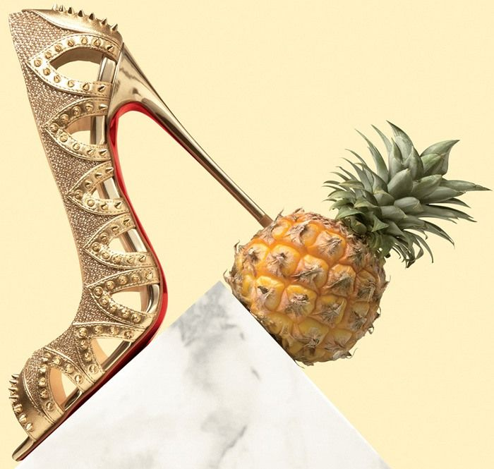 cheap knock off red bottom shoes - Christian Louboutin Circus City Spiked Red Sole Pumps | Christian ...