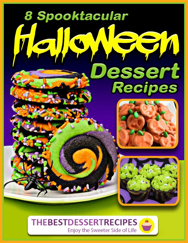 Need a few Halloween cookies, cupcakes, or sweet treats to make? Check out these 8 Spooktacular Halloween Dessert Recipes! They're ghoulishly good! (You'll especially love the Halloween cookies and Halloween cupcakes!) This printable collection is completely free and can be viewed on any tablet or computer!