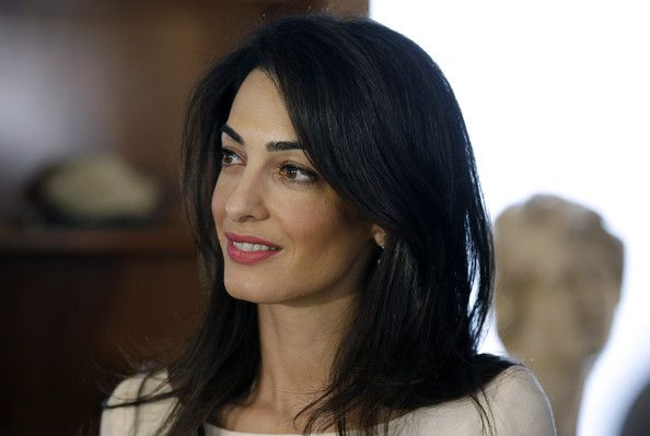 Amal Clooney Photos: Amal Clooney Returns to Work