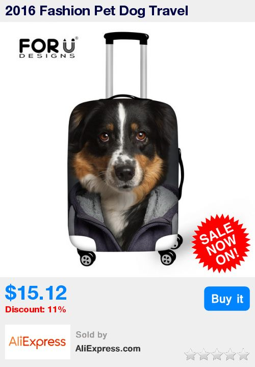 2016 Fashion Pet Dog Travel Accessories Men's Luggage Cover Animals Boys Cover To Suitcase Supply For 18-22inch Travel Suitcase * Pub Date: 14:42 Oct 7 2017