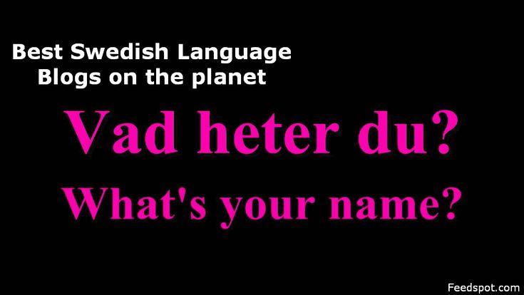 Learn Swedish Online from Top 5 Swedish Language Blogs